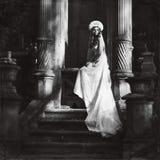 Mujeres retras de la moda Fotografía de archivo