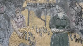 Mujeres rusas de los trabajadores Fotografía de archivo libre de regalías