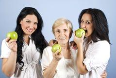Mujeres sanas de la forma de vida Fotos de archivo libres de regalías