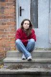 Mujeres sin hogar Imagen de archivo libre de regalías