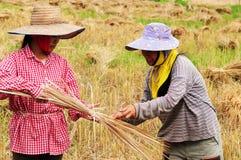 Mujeres tailandesas Imágenes de archivo libres de regalías
