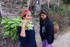 Mujeres tribales Fotos de archivo