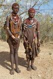 Mujeres tribales africanas Foto de archivo libre de regalías