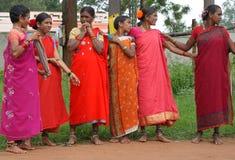 Mujeres tribales, Idia Foto de archivo libre de regalías