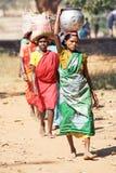 Mujeres tribales indias Imagenes de archivo