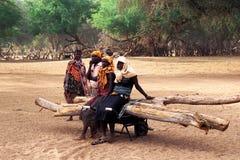 Mujeres Turkana (Kanya) imágenes de archivo libres de regalías
