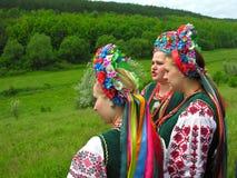 Mujeres ucranianas Imagen de archivo libre de regalías
