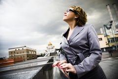 Mujeres urbanas Imagen de archivo libre de regalías