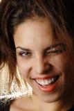 Mujerzuela descarada Imagenes de archivo