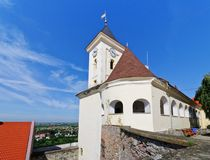 Mukachevo castle Royalty Free Stock Photography