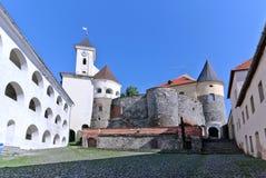Mukachevo Schloss Lizenzfreies Stockbild