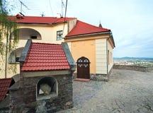 Mukachevo Schlossansicht (Ukraine) Lizenzfreies Stockbild