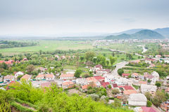 Mukachevo view Stock Photo