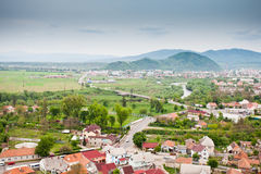 Mukachevo view Stock Image