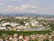 Mukachevo. The Zakarpatye area. Ukraine. Royalty Free Stock Image