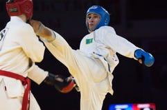 Mukashev Ulan hit Stock Images