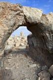 Mukawir - руины короля Herod рокируйте - Джордан Стоковое фото RF
