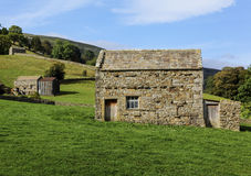 Muker stone barns Royalty Free Stock Photography