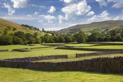 Muker, Yorkshire doliny Zdjęcie Royalty Free