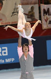 Mukhortova/Trankov (RUS) - free skating Royalty Free Stock Image