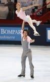 Mukhortova/Trankov (RUS) - free skating Stock Image