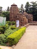 Mukhteshwar Temple Bhubaneshwar. One of the famous IndianArcheological site situated in & x27;old town bhubaneswar& x27; Odisha. Ancient Hindu temple. Emerged Royalty Free Stock Photos