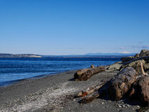 Mukilteo beach Stock Photography