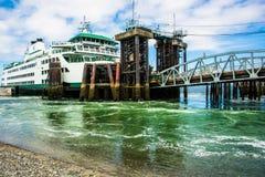 Mukilteo, ferry de WA Images libres de droits