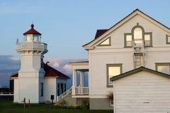 Mukilteo lighthouse Royalty Free Stock Photography