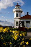 Mukilteo lighthouse Royalty Free Stock Photo