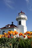 Mukilteo lighthouse Royalty Free Stock Image