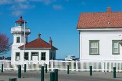 Mukilteo Lighthouse in Washington State Stock Photography
