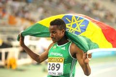 Muktar Edris της Αιθιοπίας Στοκ Εικόνες