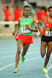 Muktar Edris von Äthiopien Lizenzfreie Stockfotografie