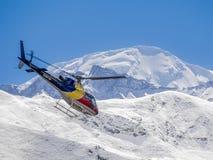 Muktinath, Νεπάλ - 17.2014 Μαρτίου: Επιχείρηση διάσωσης Νεπάλ Στοκ Εικόνες