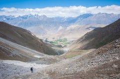 Muktinath, Annapurna ślad, Nepal Zdjęcia Royalty Free
