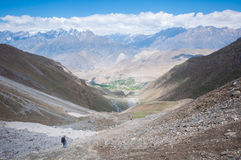 Muktinath, Annapurna Trail, Nepal Royalty Free Stock Photos