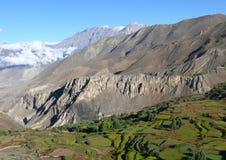 Muktinath landscape. (Annapurna circuit Nepal Stock Photo