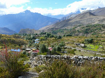 Muktinath landscape, Nepal Royalty Free Stock Images