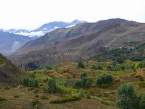 Muktinath landscape after rain, Nepal Stock Photos