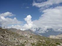 Muktinath mustang Nepal Royaltyfri Bild