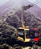 Mukumbari cable car system cabin in Venezuela royalty free stock photography
