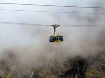 Mukumbari wagonu kolei linowej systemu kabina w Wenezuela zdjęcie royalty free