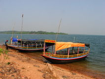 Mukutmanipur湖 免版税图库摄影
