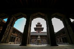 Patan Durbar Sqare royalty free stock photo