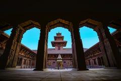 Mul Chowk of Patan Durbar Square stock photo