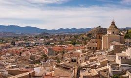 Mula - Oude Stad in Spanje Royalty-vrije Stock Foto's