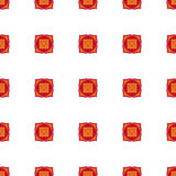 Muladhara - chakra ρίζας Το σύμβολο του πρώτου chakra διάνυσμα Στοκ εικόνες με δικαίωμα ελεύθερης χρήσης