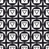 Muladhara - chakra ρίζας Το σύμβολο του πρώτου chakra διάνυσμα Στοκ Εικόνα