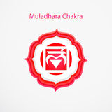 Muladhara chakra 库存图片